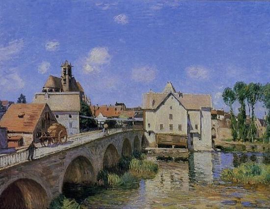 Le Pont de Moret de Sisley