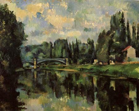 Pont de Créteil - Cézanne 1888